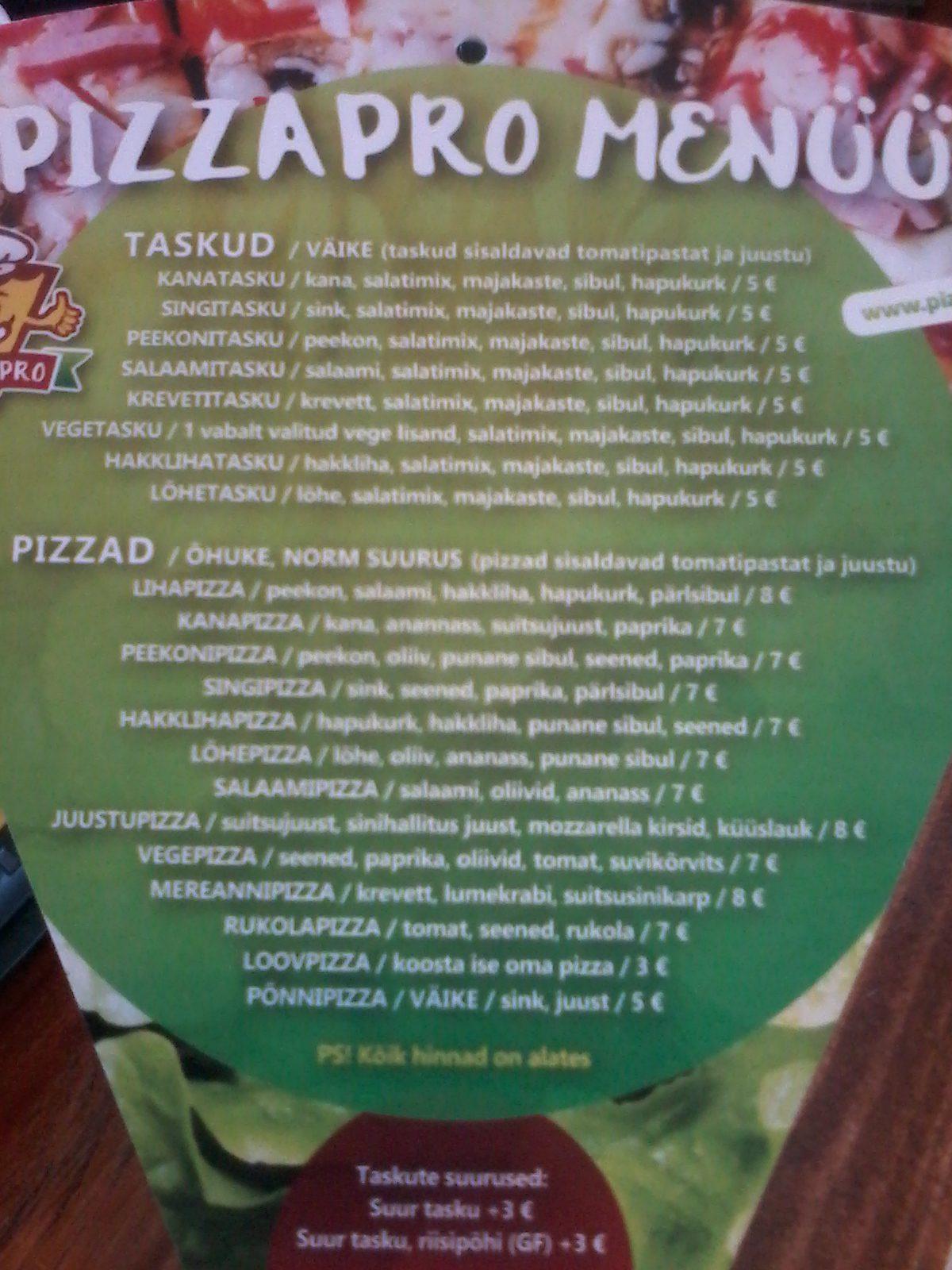 3a85ada300a Aga kirjutan ma neist sellepärast, et neil on mitu vegan pitsat menüüs, ...