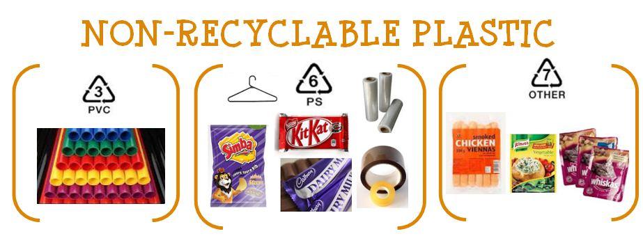 Non-recyclable-Plastic