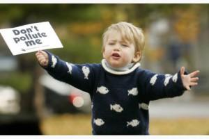 pollute child