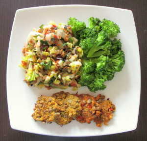Läätsepudru brokoliga