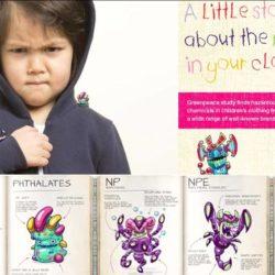 Greenpeace avaldas ülevaate kõige mürgisematest lasteriietest